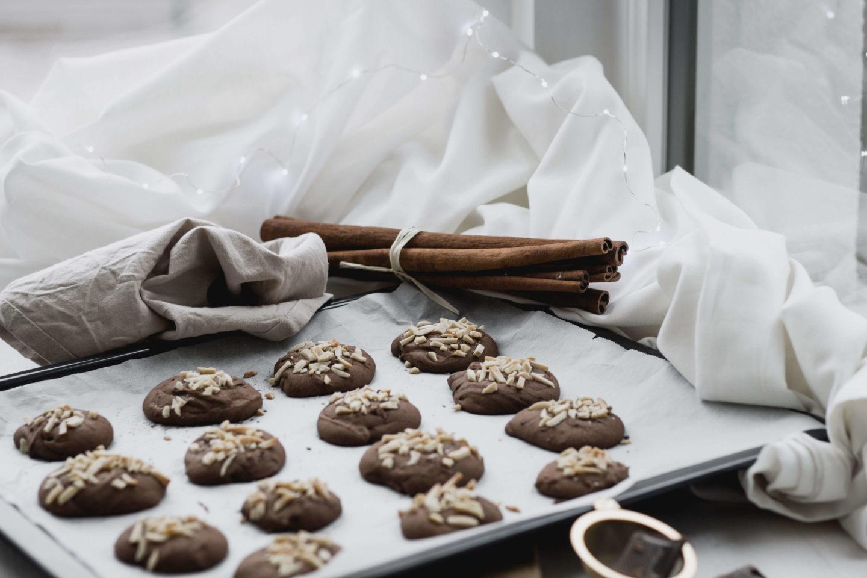 Glutenfreier Schoko-Lebkuchen mit Mandeln!