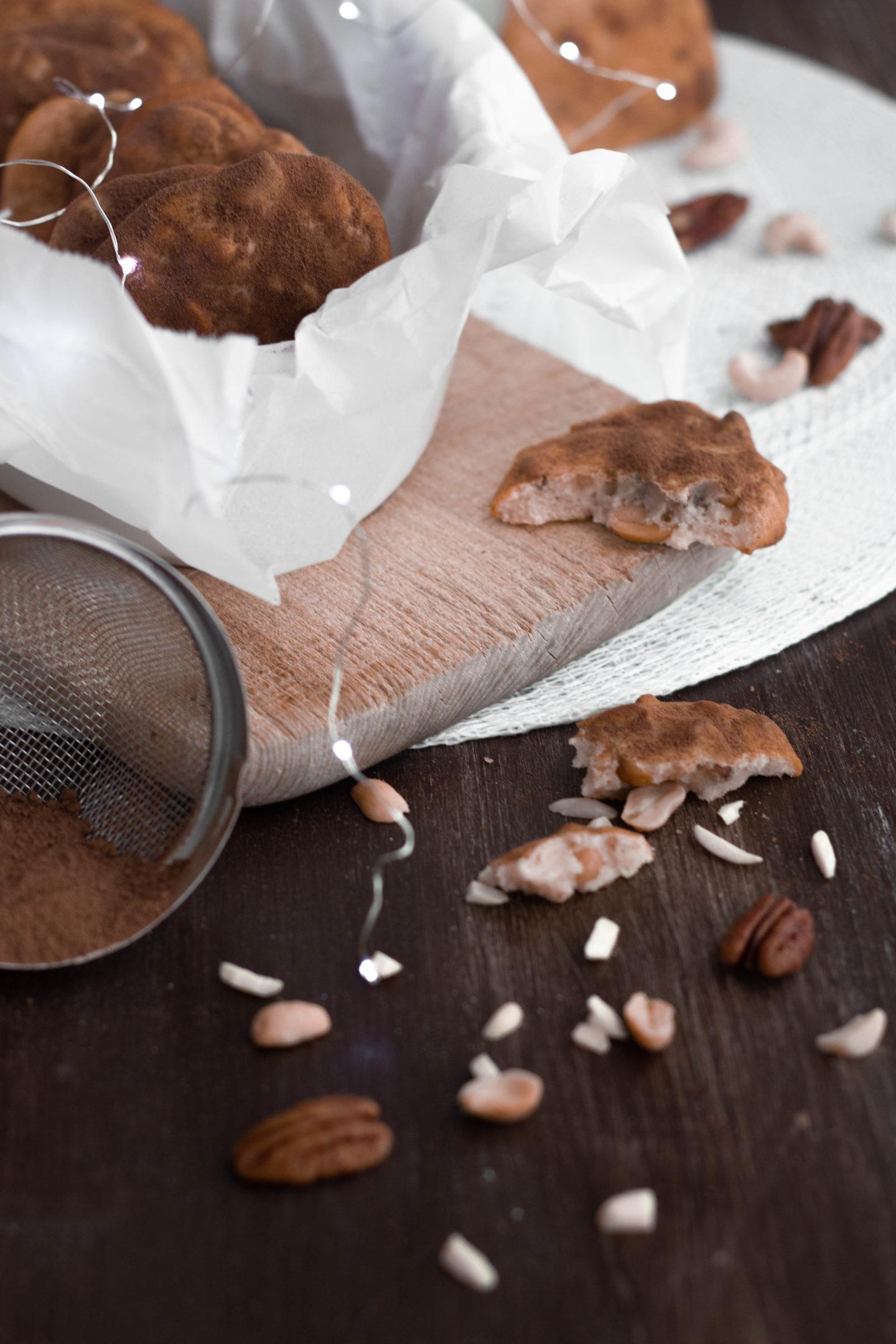 Zuckerfrei Nuss Cookies