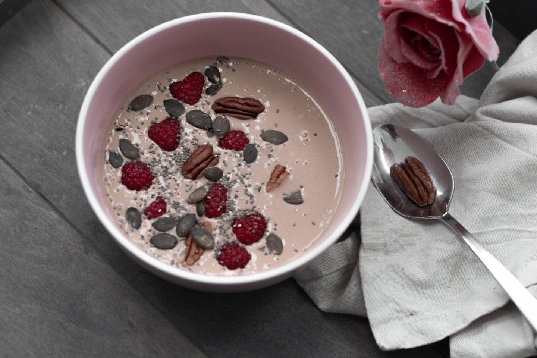 Zuckerfreie Schokoladen Bowl