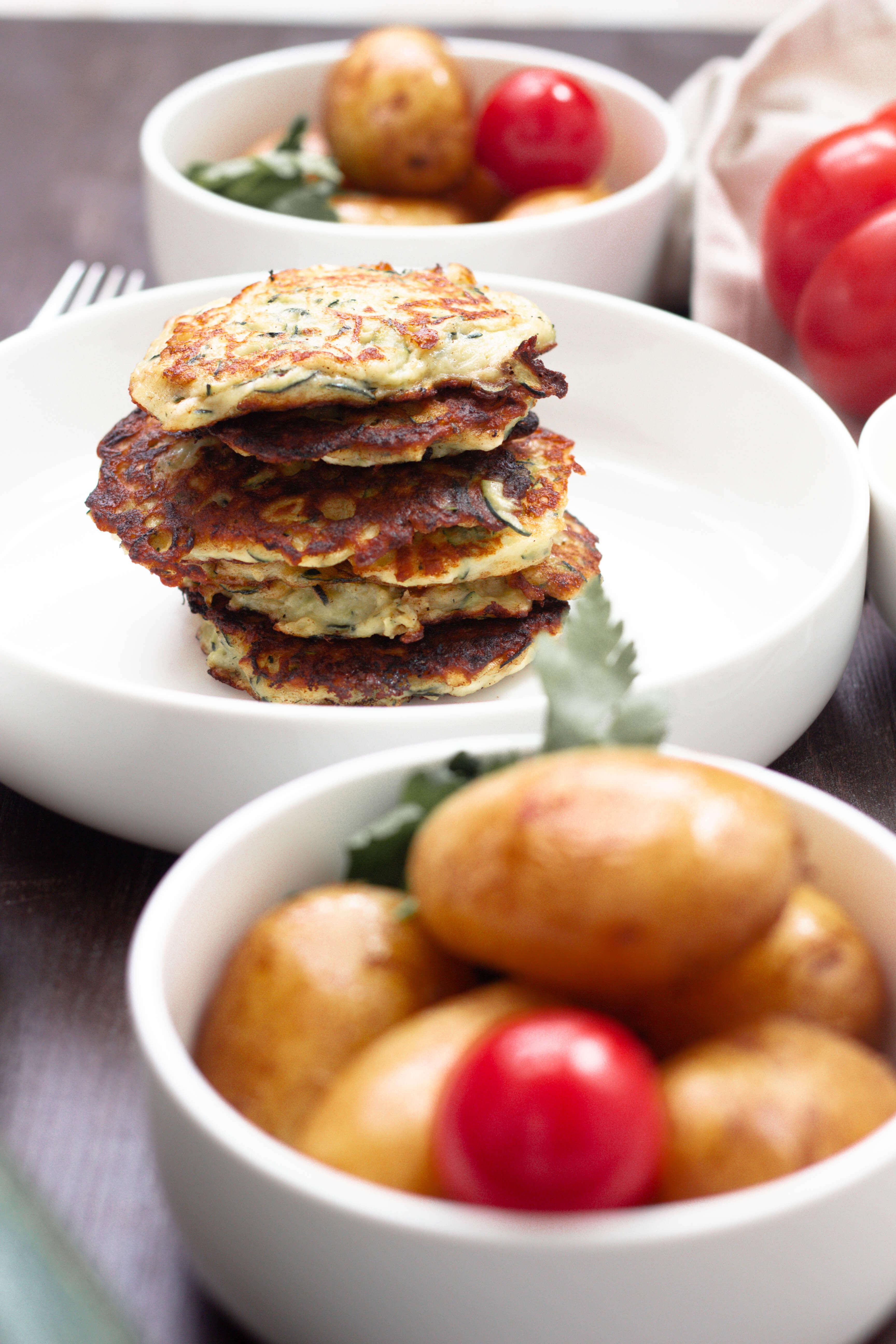 Schafkäse Zucchinipuffer-Sommergemüse- Vegetarisch-Dein HomeSpa- Food & Wohlfühlblog aus dem Mostviertel