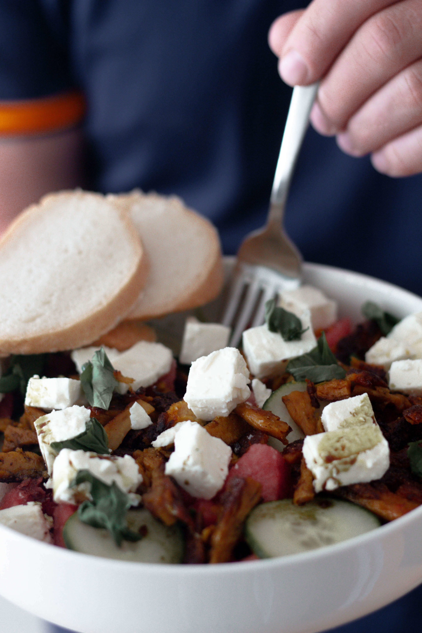 Wassermelonensalat-Dein HomeSpa- Food & Wohlfühlblog aus dem Mostviertel